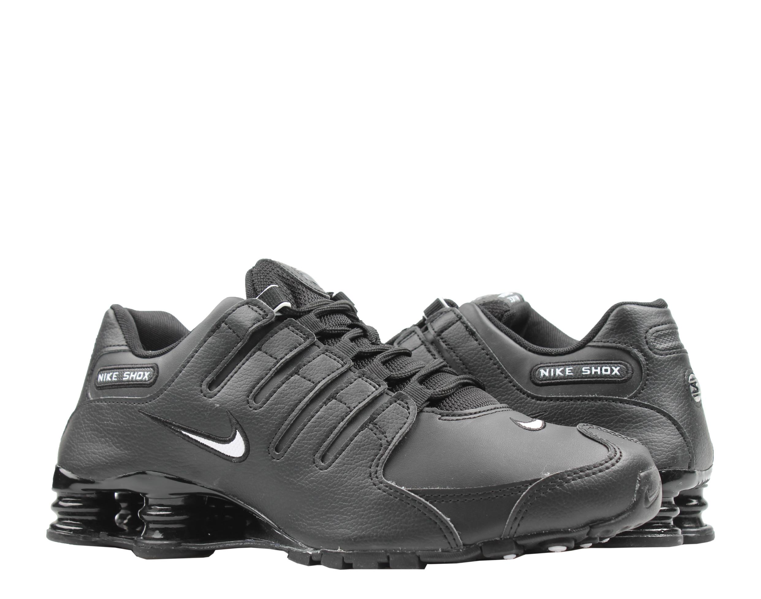 Nike Shox NZ EU Mens Running Shoes Black//White//Black 501524-091 NWB All Sizes
