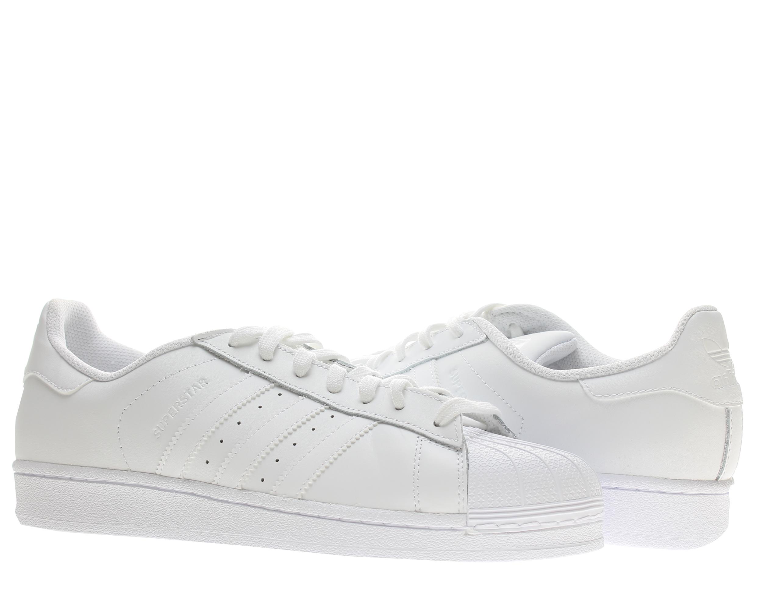 Adidas Originals Superstar Foundation White/White Men's Basketball ...