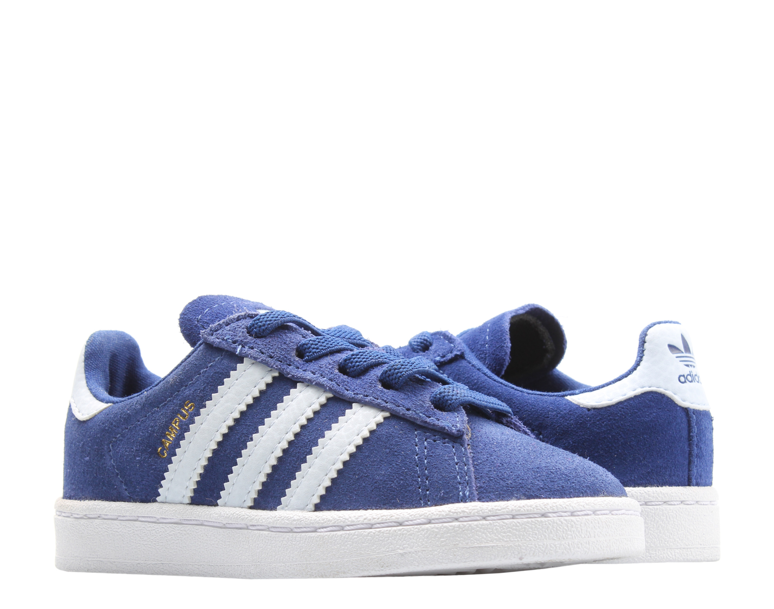 Adidas Originals Campus EL I Infant Blue/White Little Kids Casual ...