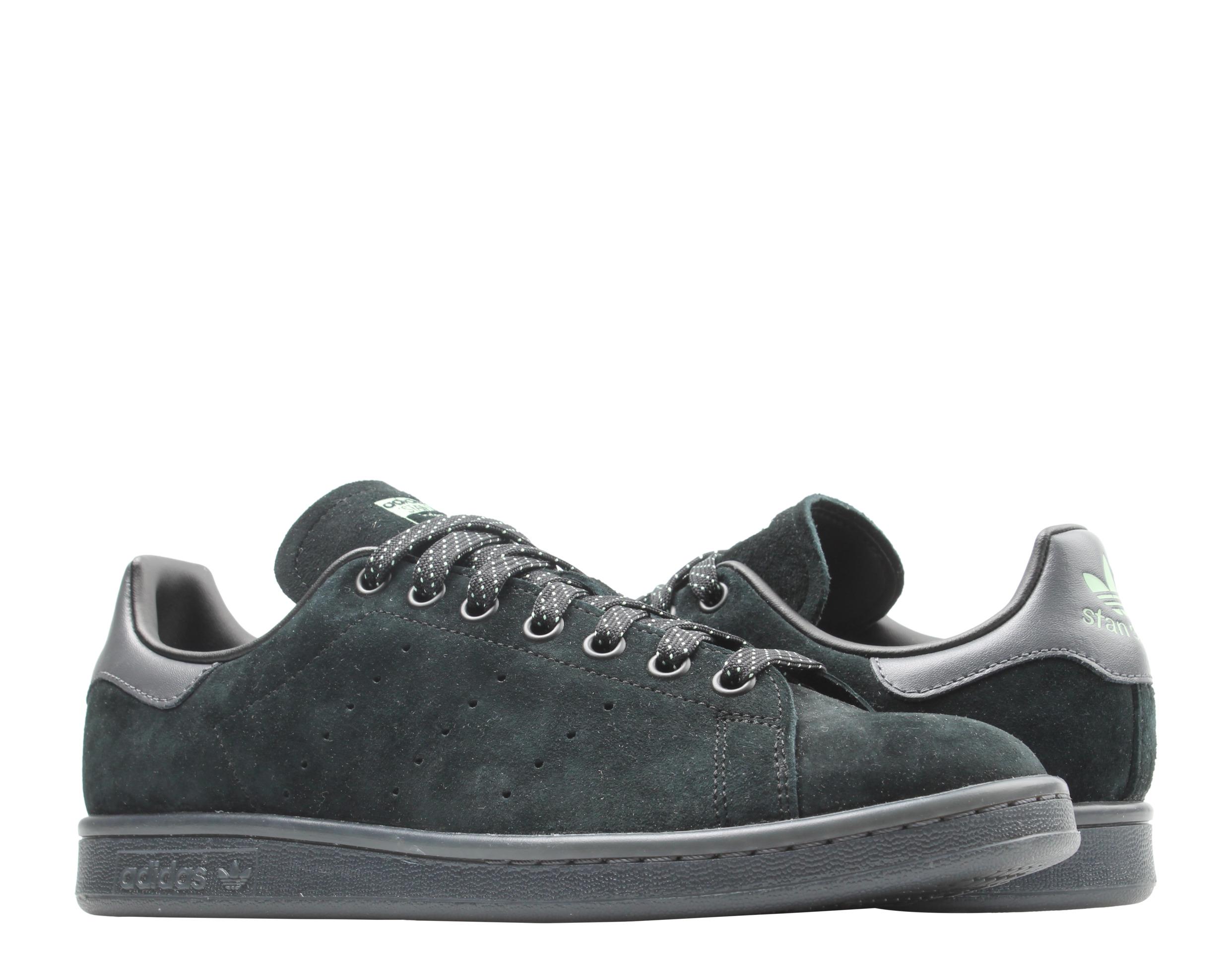 Details about Adidas Originals Stan Smith Core Black/Blush Green Men's Tennis Shoes FW2640