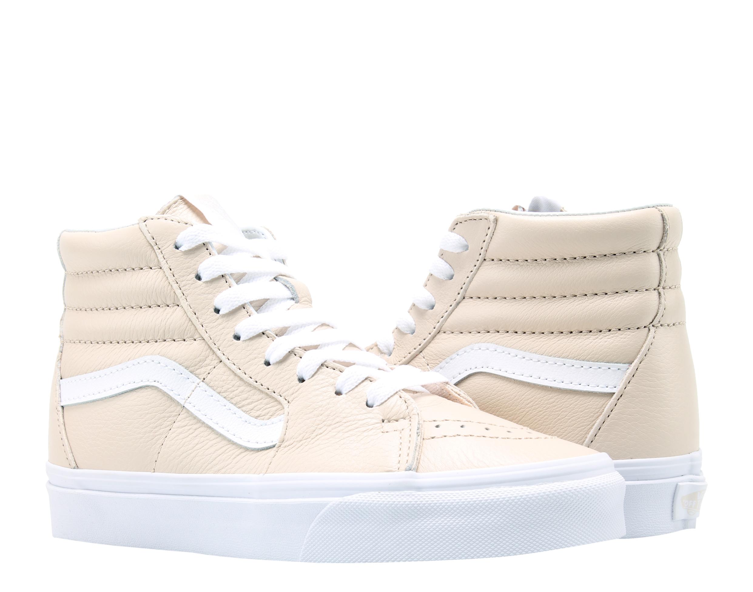 Vans Sk8-Hi Sand Dollar/blanco verdadero Clásico Hi Top Zapatillas ...